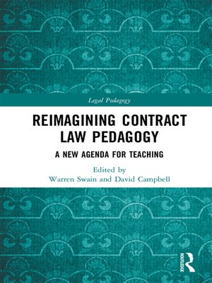 cover image of Reimagining Contract Law Pedagogy