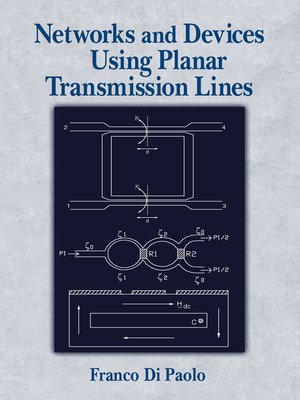 cover image of Networks and Devices Using Planar Transmissions Lines