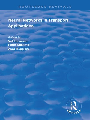cover image of Neural Networks in Transport Applications