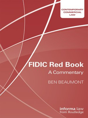cover image of FIDIC Red Book