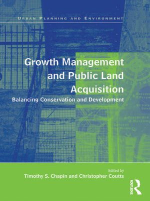 cover image of Growth Management and Public Land Acquisition