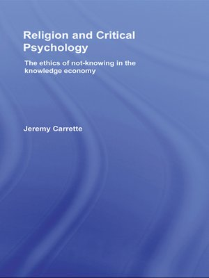cover image of Religion and Critical Psychology