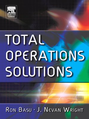 cover image of Total Operations Solutions