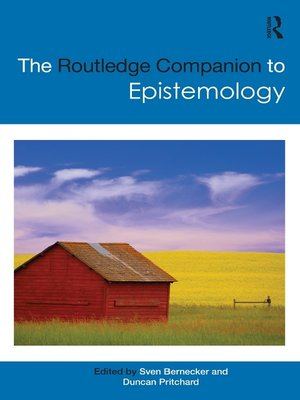 cover image of The Routledge Companion to Epistemology