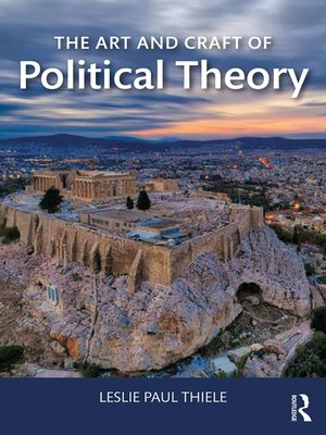 cover image of The Art and Craft of Political Theory