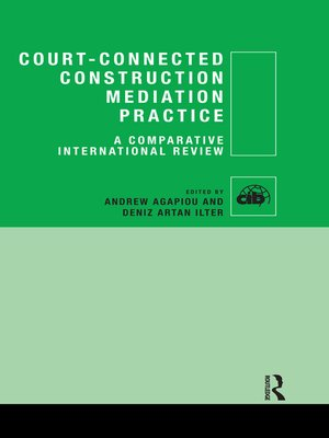 cover image of Court-Connected Construction Mediation Practice
