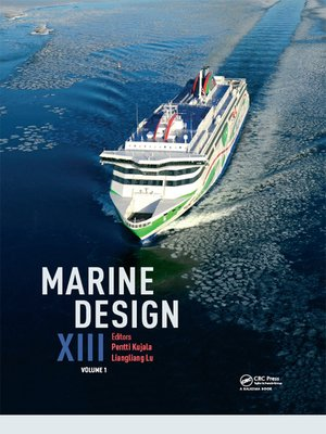 cover image of Marine Design XIII, Volume 1