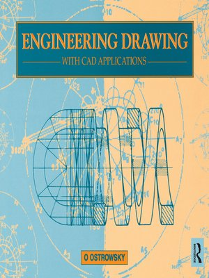 cover image of Engineering Drawing with CAD Applications