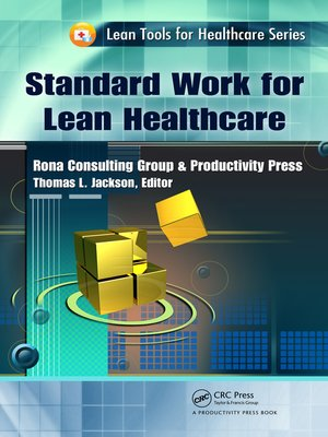 cover image of Standard Work for Lean Healthcare