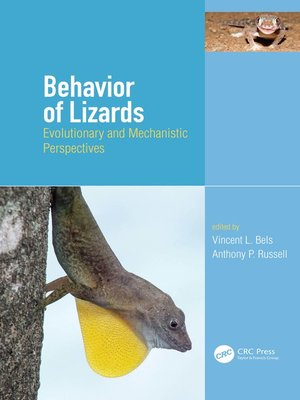 cover image of Behavior of Lizards