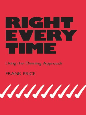 cover image of Right Every Time