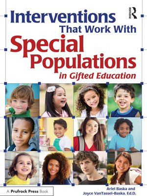 cover image of Interventions That Work With Special Populations in Gifted Education