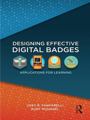 cover image of Designing Effective Digital Badges