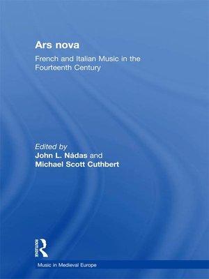 cover image of Ars nova