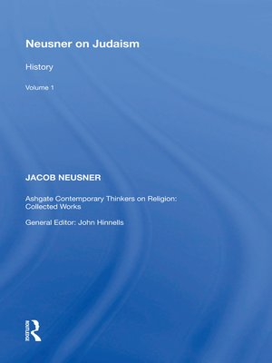 cover image of Neusner on Judaism