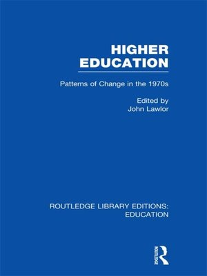 cover image of Higher Education