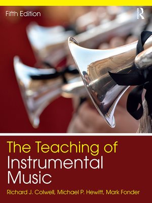 cover image of The Teaching of Instrumental Music