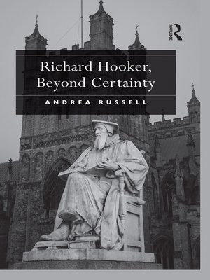 cover image of Richard Hooker, Beyond Certainty