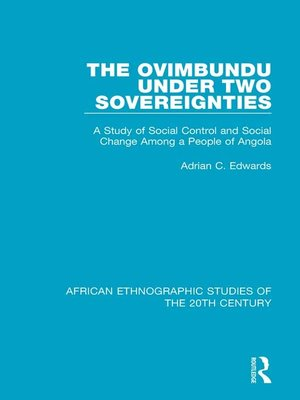 cover image of The Ovimbundu Under Two Sovereignties