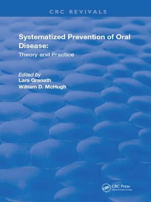 cover image of Systemized Prevention of Oral Disease