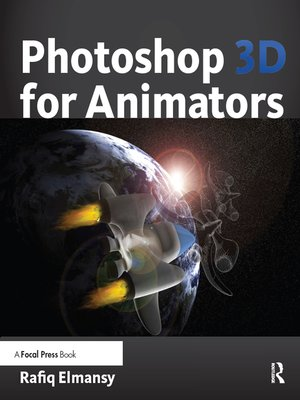 cover image of Photoshop 3D for Animators