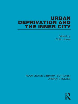 cover image of Urban Deprivation and the Inner City