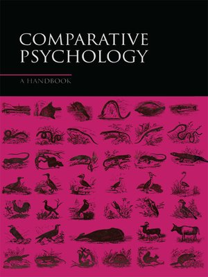 cover image of Comparative Psychology