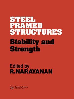cover image of Steel Framed Structures