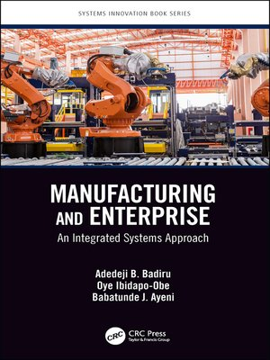 cover image of Manufacturing and Enterprise