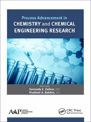 cover image of Process Advancement in Chemistry and Chemical Engineering Research