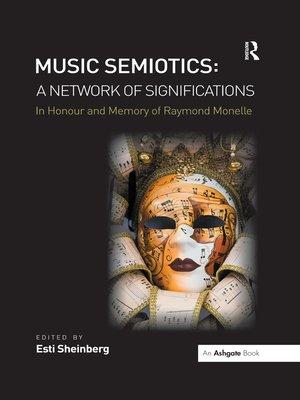 cover image of Music Semiotics