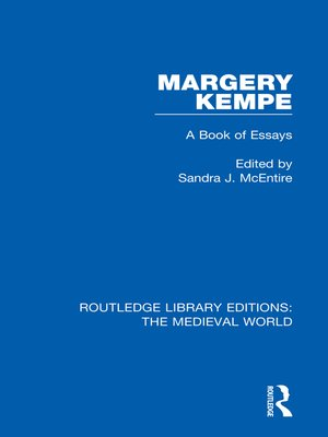 cover image of Margery Kempe