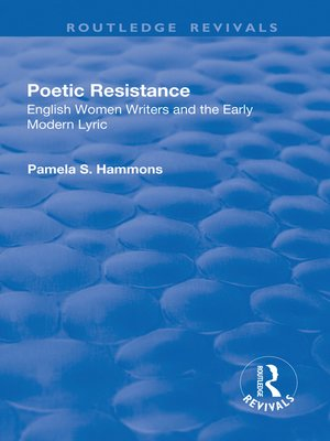 cover image of Poetic Resistance