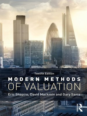 cover image of Modern Methods of Valuation