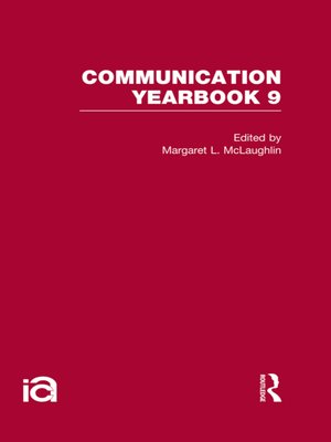 cover image of Communication Yearbook 9