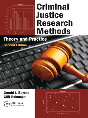 cover image of Criminal Justice Research Methods