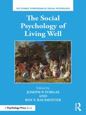 cover image of The Social Psychology of Living Well