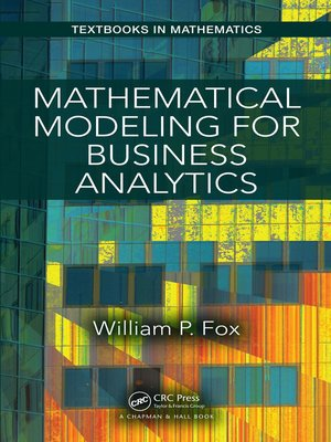 cover image of Mathematical Modeling for Business Analytics