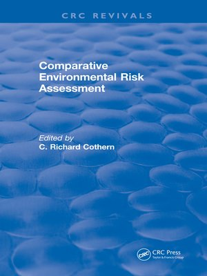cover image of Comparative Environmental Risk Assessment
