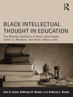 cover image of Black Intellectual Thought in Education