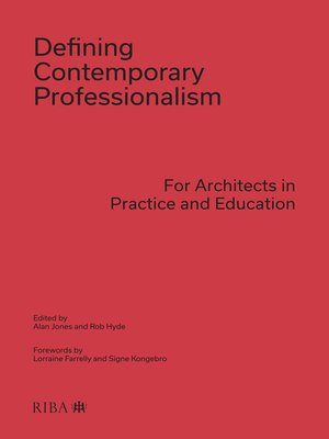 cover image of Defining Contemporary Professionalism