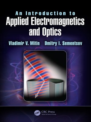 cover image of An Introduction to Applied Electromagnetics and Optics