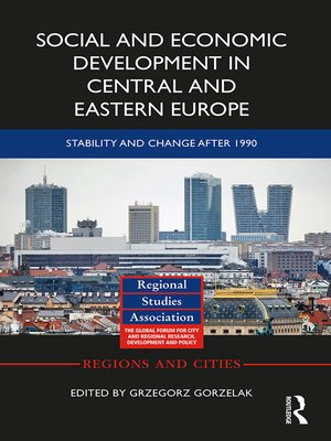 cover image of Social and Economic Development in Central and Eastern Europe
