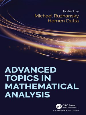 cover image of Advanced Topics in Mathematical Analysis