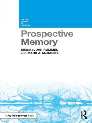 cover image of Prospective Memory
