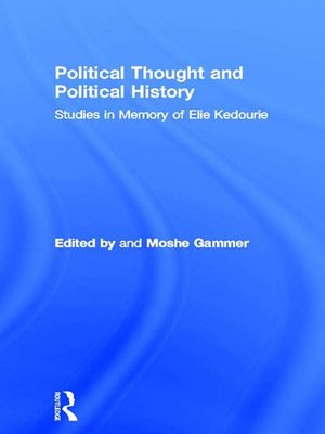 cover image of Political Thought and Political History