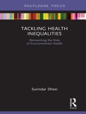 cover image of Tackling Health Inequalities