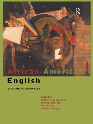 cover image of African-American English