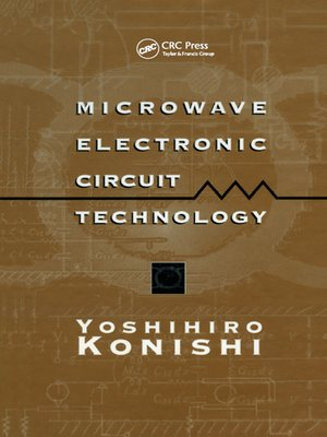 cover image of Microwave Electronic Circuit Technology