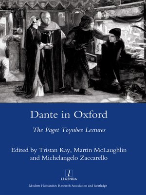 cover image of Dante in Oxford